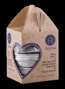 Azena blue gift set