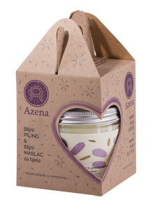 Azena purple gift set
