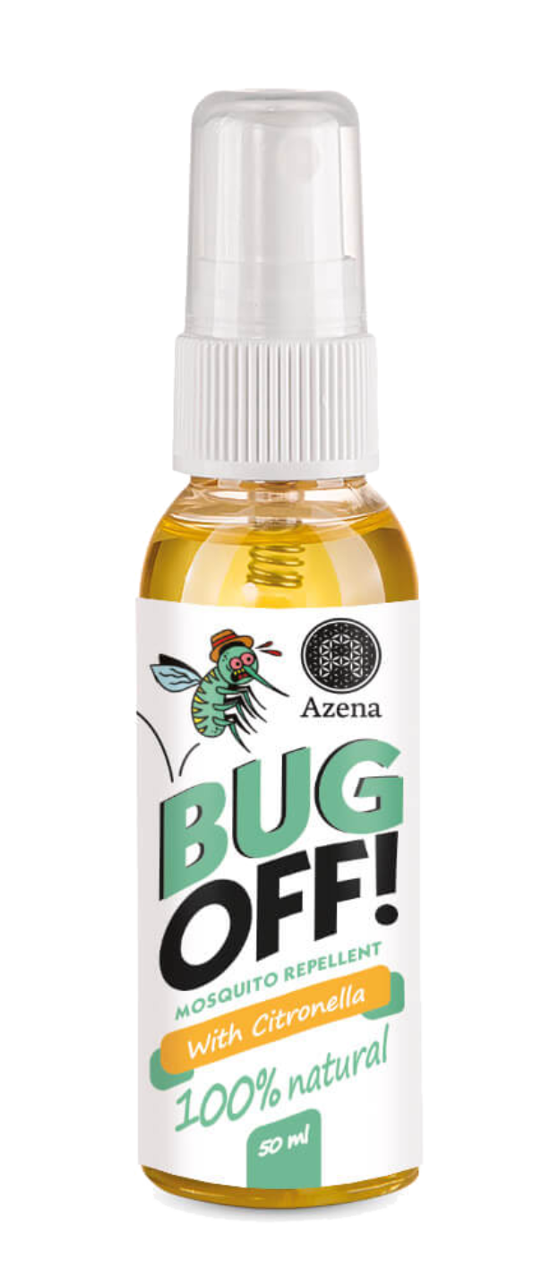 Bug off! Repellent