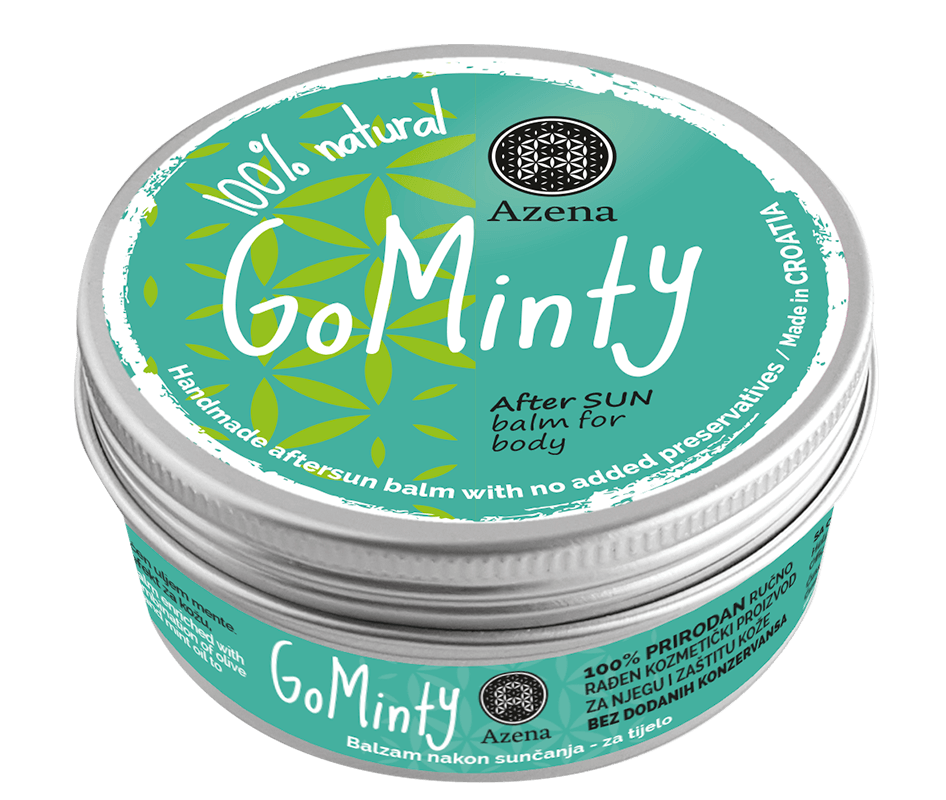 GoMinty aftersun balm