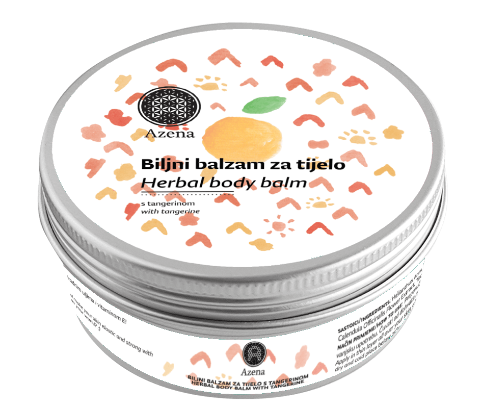 Herbal body balm - Tangerine