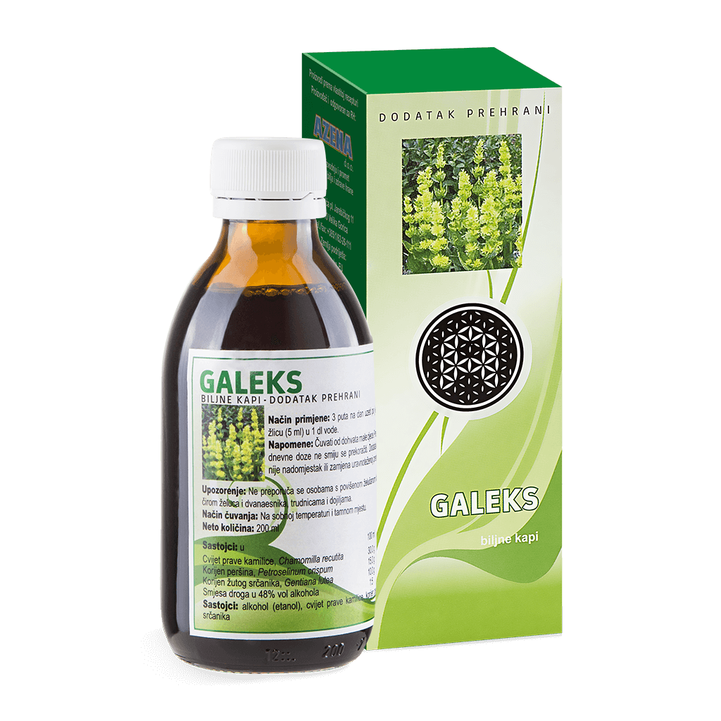 Herbal drops -Galeks