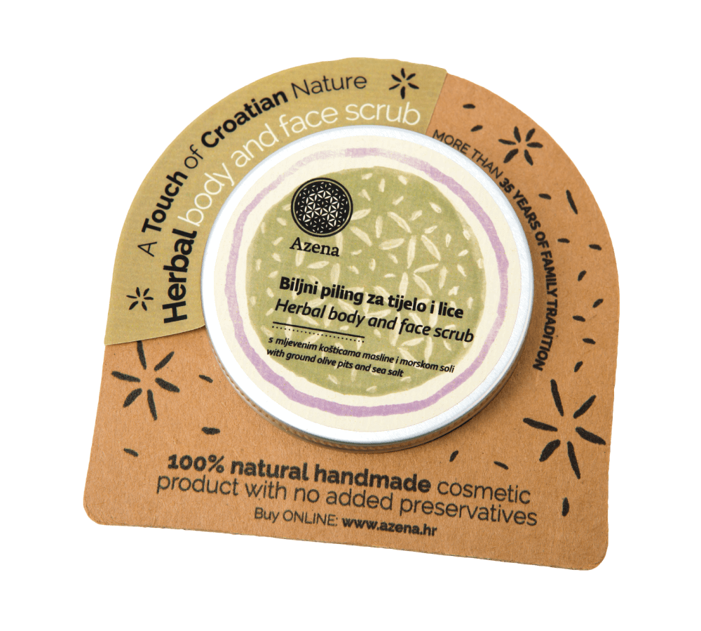 herbal body & face scrub